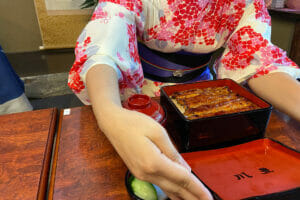 Unagi restaurant Kawatoyo